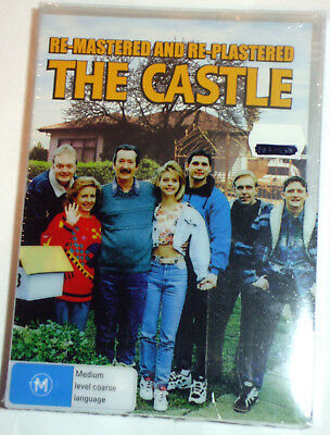 The Castle - Remastered/Replastered c/w 3D slipcase - new/sealed R4 DVD - posted