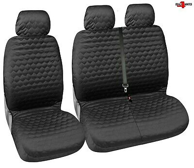 TAILORED FIT VAN SEAT COVERS VW CRAFTER MERCEDES SPRINTER WOODLAND BROWN 150WBRN