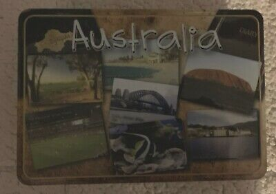 UNIBIC ' Postcards From Australia' 2006 ANZAC Biscuit - Tin