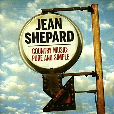 Jean Shepard - Country Music:Pure and Simple 50 Track Best Of [CD]