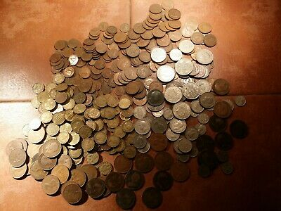 english 100 coins old british bulk coin lot victoria edward george elizabeth