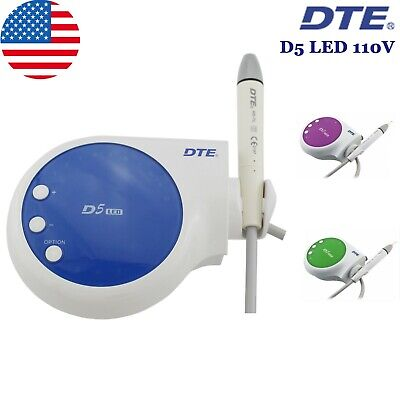 100% Woodpecker Dental Ultrasonic Scaler Piezo Endo Scaling DTE D5 LED Handpiece