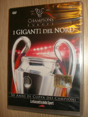 Dvd Nuovo  Champions Of Europe N° 4 Champions Of Europe I Giganti Del Nord