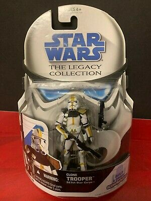Star Wars Legacy Collection 2008 Clone Trooper 327th Star Corps