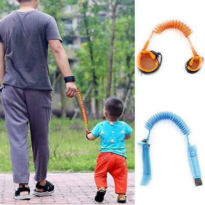 Toddler Kids Baby Safety Walking Harness Anti-lost Leash Wrist Belt Strap H G2D6