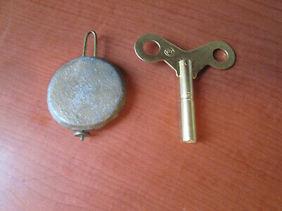 "Vintage  2-1/2"" Seth Thomas Pendulum With Key for Mantle Clock (423A4)"