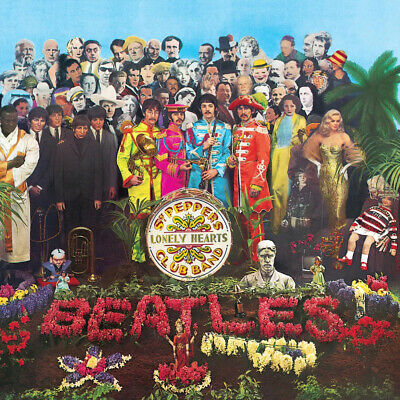 The Beatles - Sgt. Pepper's Lonely Hearts Club Band Album Cover Poster Giclée