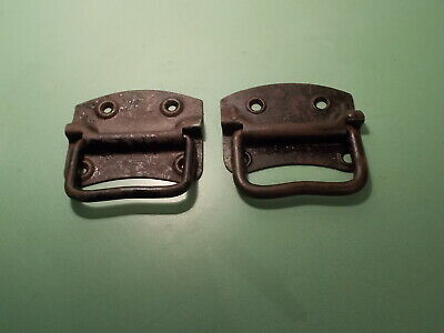 Near Pair Vintage Carry Handles for Chest - Trunk - Storage Box
