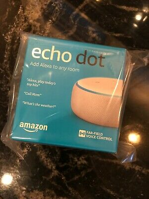 Amazon Echo Dot 3rd Generation Smart Speaker - White