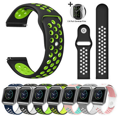 Soft Silicone Sport Strap Smart Fitness Watch Bands Wristband for Fitbit Blaze