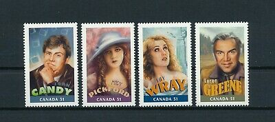 CANADA  2153a-d MNH, Canadians in Hollywood, 2006