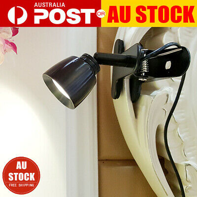 Portable Travel Flexible USB LED Clamp Clip-On Reading Book Light Desk Lamp AU