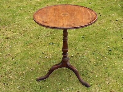 Antique Wooden Tripod Table