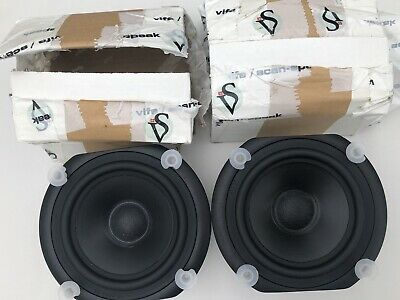 Vifa Peerless TC14 SG69 Bass/ mid drivers 4 Ohm. New old stock PAIR