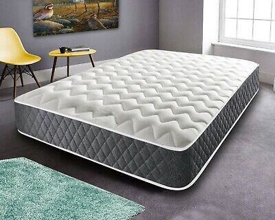 MATTRESSES MEMORY FOAM MATTRESS SINGLE SMALL DOUBLE 4ft6 KING SIZE ORTHOPAEDIC