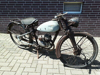 Seltenes Oldtimer Moped Rabeneick LM 100 Bj. 1950