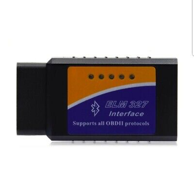 INTERFACE ELM 327 BLUETOOTH OBD2 DIAG SCAN Torque Android