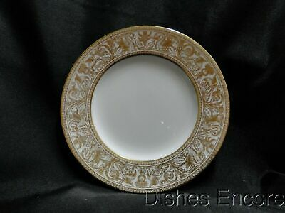 """Wedgwood Gold Florentine W4219, Dragons on White: Bread Plate (s), 6"""""""