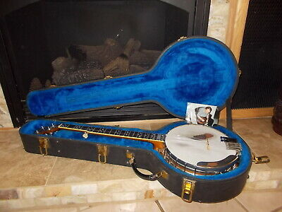1930 GIBSON TB-1 5 string conversion banjo with Huber Tone