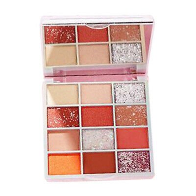 12 Color Cosmetic Eyeshadow Powder Eye Shadow Palette Long Lasting Eye Shade