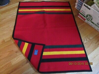 Vtg Pendleton Wool Hanging Rug/ Horse Saddle Blanket- Made In Usa Nice!!