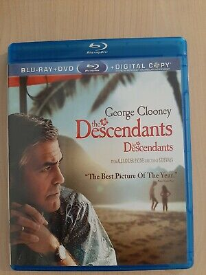 The Descendants Blu ray only + box (2012)