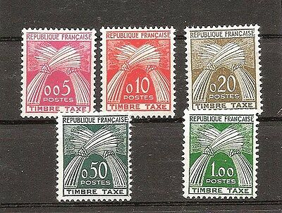 Timbres France neufs** -  lot taxes 90 à 94