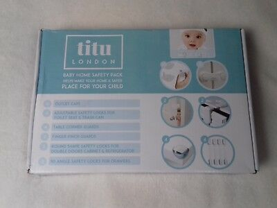 Titu London Home Safety Starter Pack Baby Proofing (24 Piece)