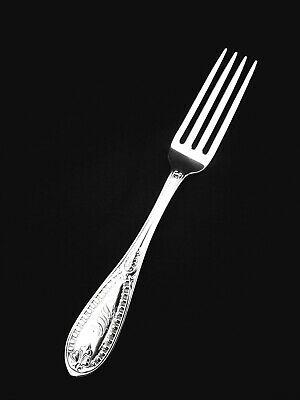 "Antique Tiffany & Co Sterling Silver  Dinner Fork - 7"" Mono"