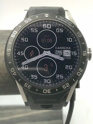 TAG Heuer Connected Modular 45 Black SmartWatch 45mm Iphone Android Compatible