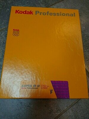 Kodak Professional Supra III Surface F 8X10 color photo paper 100 shts some used