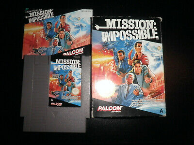 Nintendo NES - mission impossible - 100%   complete