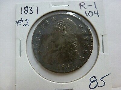 1831 Capped Bust Silver Half Dollar #2