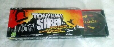 TONY HAWK'S SHRED ps3 pal España spa playstation 3 hawks pro skater
