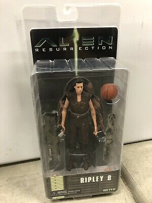 "Alien Resurrection Ripley 8 inch NECA Aliens - 7"" Scale Action Figure Series 14"