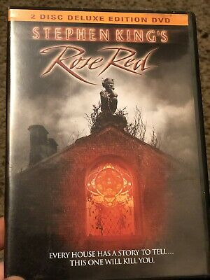 Rose Red (DVD, 2002, 2-Disc Set)RARE & OOP, GREAT CONDITION