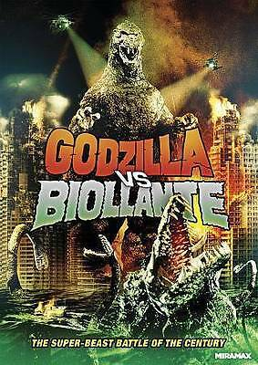 LIKE NEW Godzilla Vs. Biollante (DVD, 2014)