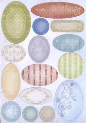 3D Die-Cut Joy Crafts Sheet Glitter Labels   6013/0626