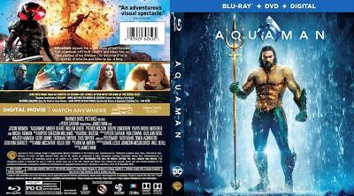 Aquaman  (Blu-ray + Dolby Atmos Surround Sound) Same Day Free Fast Shipping
