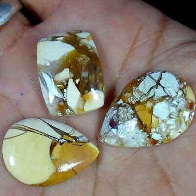 Brecciated Mookaite Lot MIX Cabochon Natural Gemstones MIX mm 34.65Cts