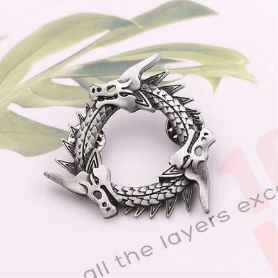 Game of Thrones Cosplay inspired Unsullied Grey Worm Dragon Pin Brooches Props