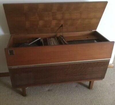 """Kriesler Multisonic radiogram 'Stereo 6"""" Late 1960's In Working Condition"""