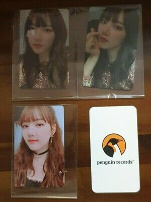 Gfriend - Vol.2 Time For Us Limited Edition Yerin Photo Card 3Ea 1Set