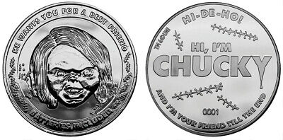 Chucky Coin Limited Edition Collectable New