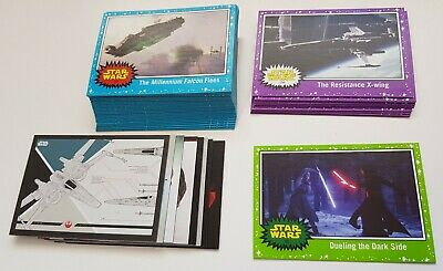 2017 Topps Star Wars Journey to The Last Jedi - Base Card Lot - 46 Base / Insert