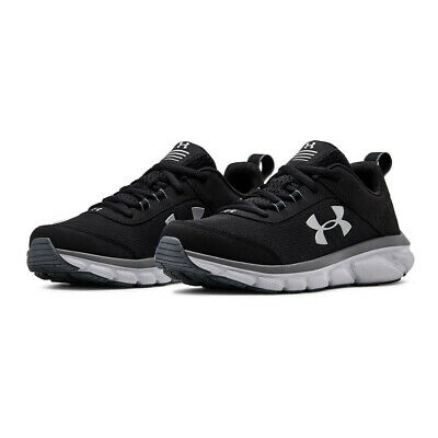 Under Armour Boys GS Assert 8 Running Shoes Trainers Sneakers - Black Sports