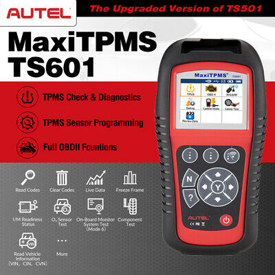 Autel MaxiTPMS TS601 Tire Pressure Monitoring System TPMS Reset Programming Tool Code Readers & Scanners Diagnostic Service Tools