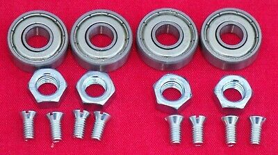 Weber Dcoe 48 Twin Carburettor Spindle Bearing   Nut  Throttle Valve Screws
