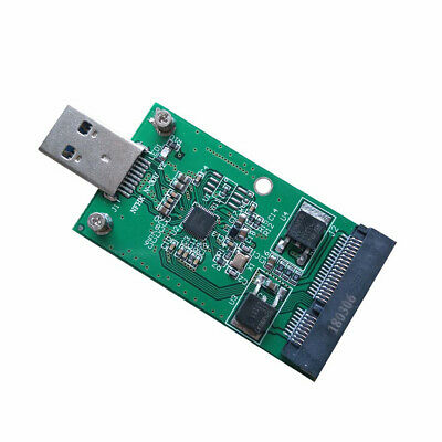 Mini PCI-E mSATA to USB 3.0 External SSD Converter Transmission Adapter Module