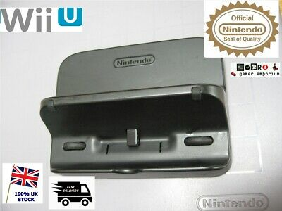 Nintendo Wii U Official Stand - Game Pad Charge Cradle / Dock Charger WUP-014